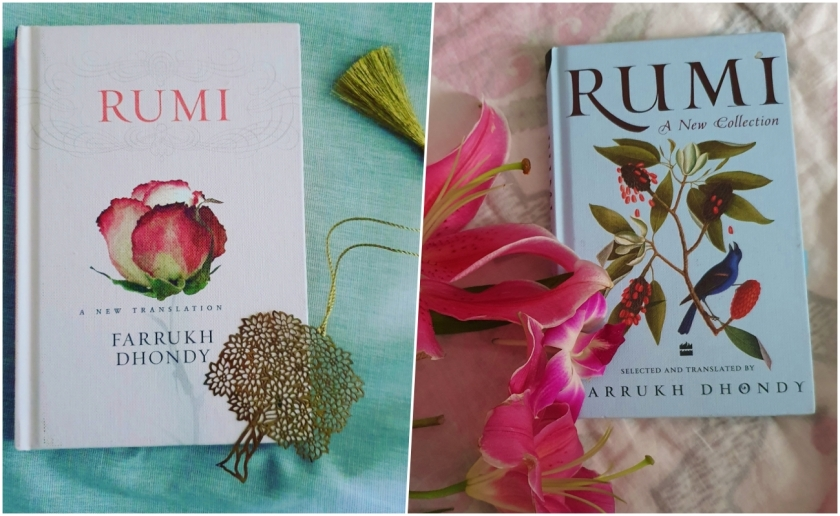 2 books of Rumi's translated works by Farrukh Dhondy