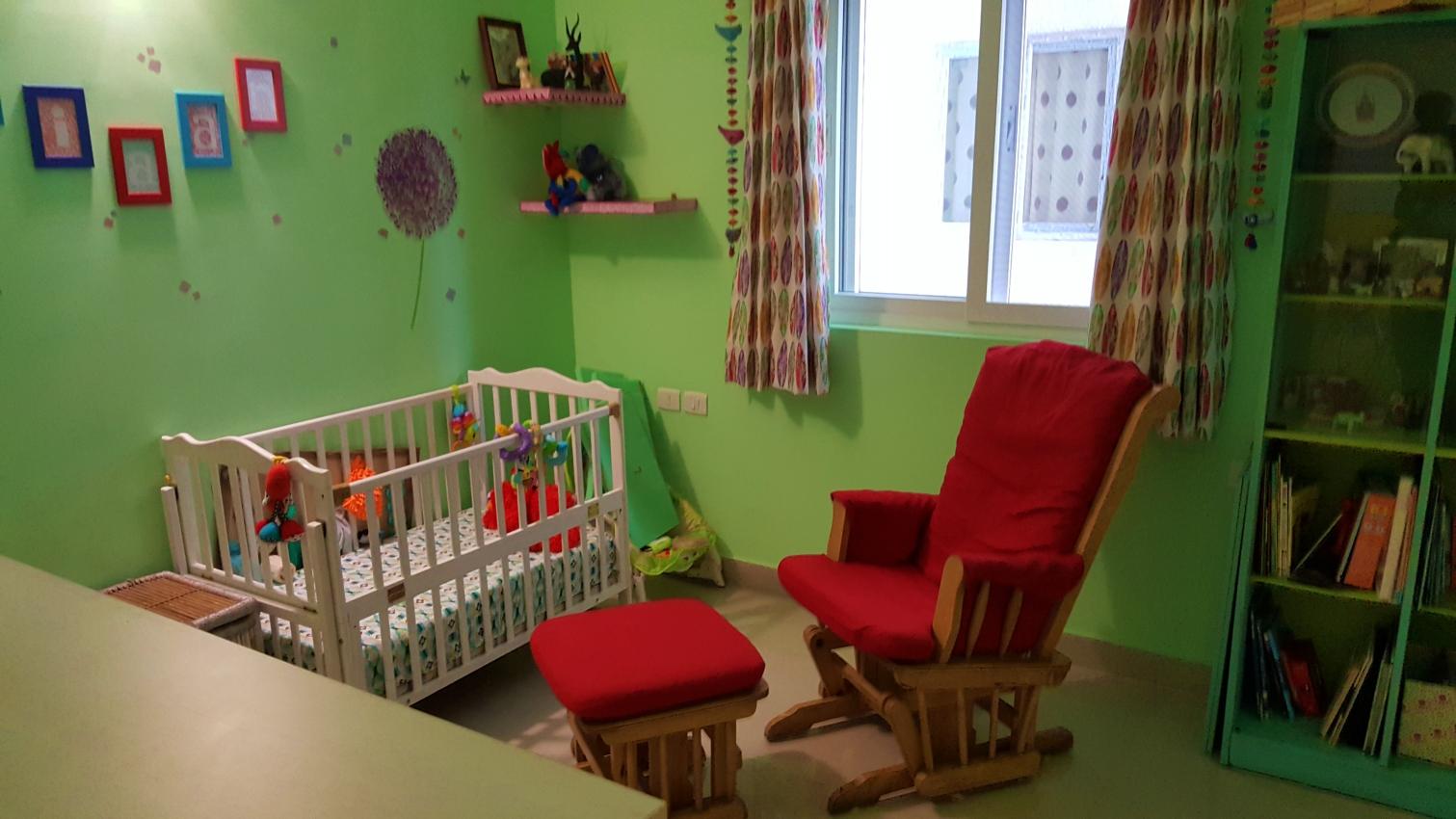 nursery decor with crib a