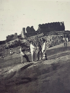 Bhongir fort in 1963