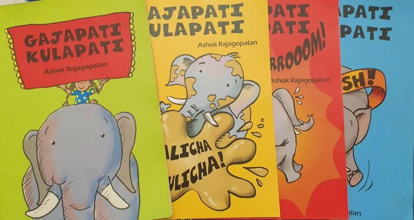 Gajapati Kulapati series of 4 books