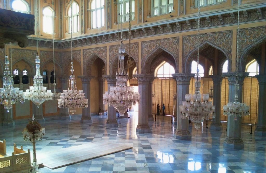 main hall of the chowmahalla palace